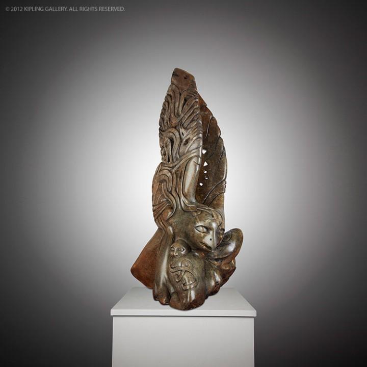Snowy Owl - Abraham Anghik Ruben: Snowy Owl
