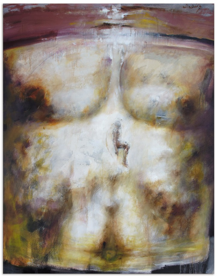 Daniel Diaz. Chest Series. 2011. Mixed Media