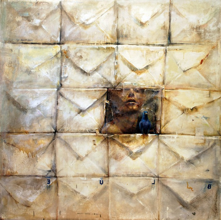 Daniel Diaz. Envelope Series. 2006. Mixed Media