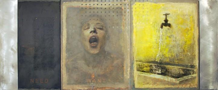 Ernesto Manera. Need Want Desire 2010. Mixed Media