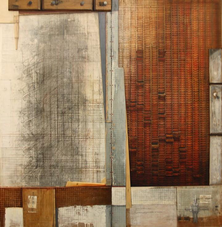 Ernesto Manera. Drawer Series - IIdling Chaos. 2007. Mixed Media