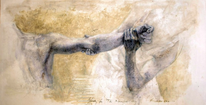 Ernesto Manera. Hug Series 5. 2010. Mixed Media