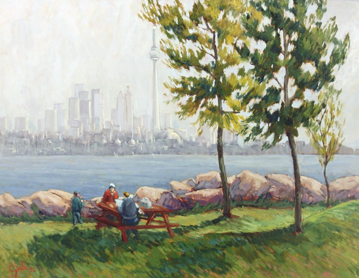 Humber Bay, West Park, 1992